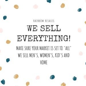 We Sell Everything!